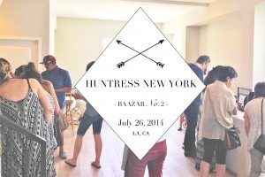 Huntress Bazaar Group Sale July 26th - Local Artisans, Jewelry Designers + Curators