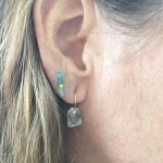 Jessica Ranek crystal post earring