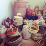 Baobab Collective African Baskets, bowls + hampers from a women's co-op in Senegal Africa.